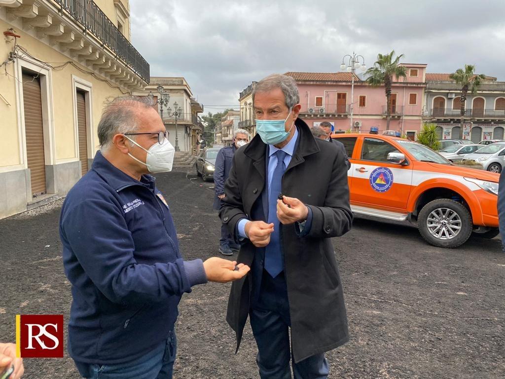 (Video) Etna: un milione di euro a sostegno delle aree più colpite