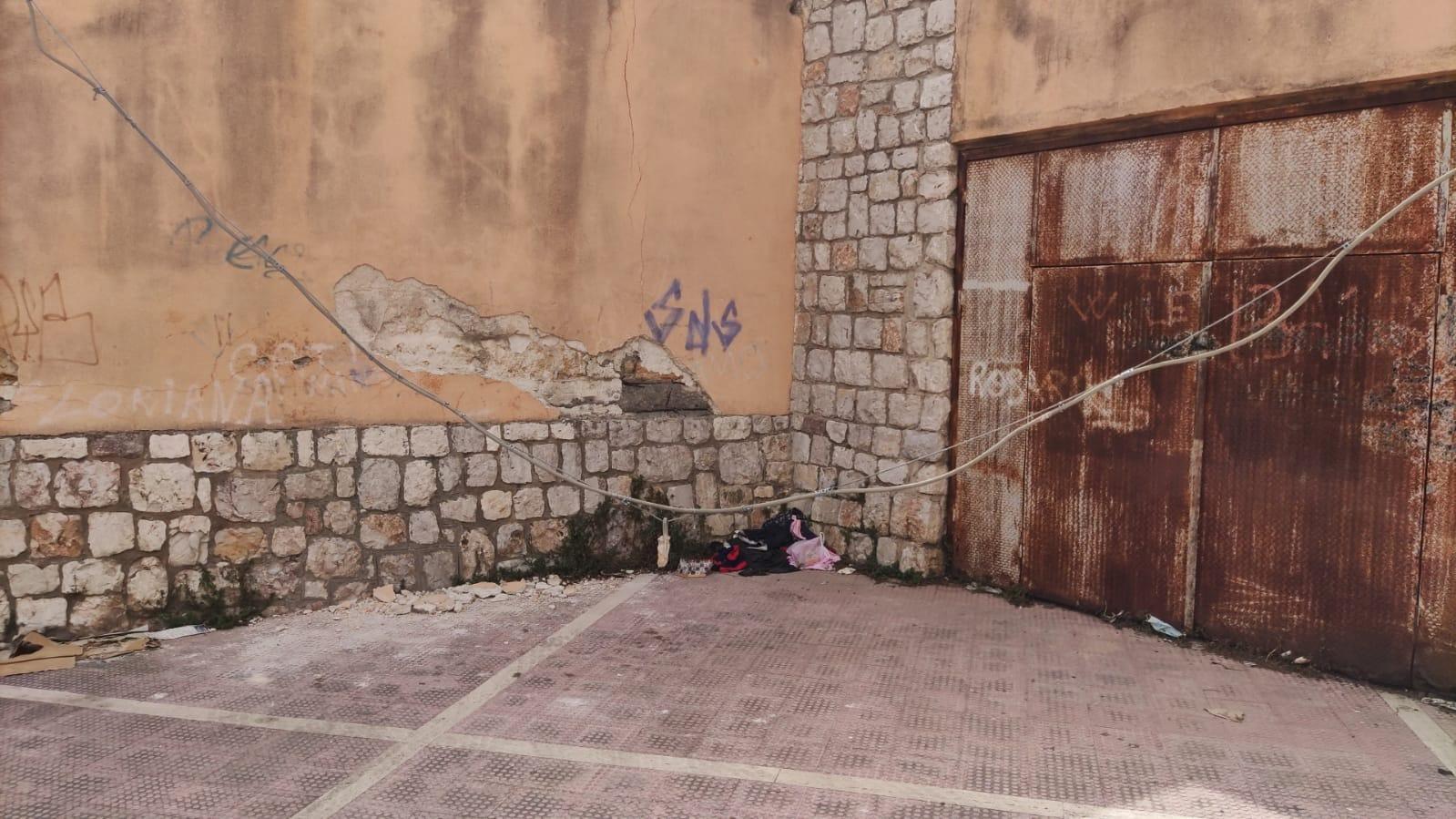 Bagheria. Cade un cavo telefonico nei pressi dello stadio comunale: nessun danno